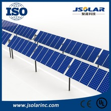 High quality biserial horizontal single-axis solar tracker automatic sun PV tracker