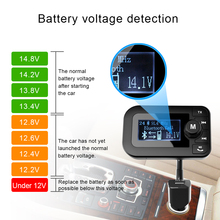 OEM Bluetooth FM Handsfree Transmitter Wireless In-Car FM Transmitter Radio Adapter Car Kit With USB Car Charger AUX Input