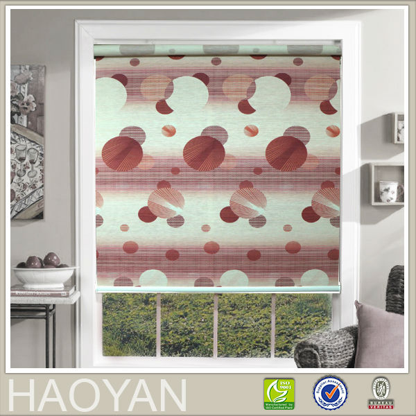 paper material beautiful printed window blinds
