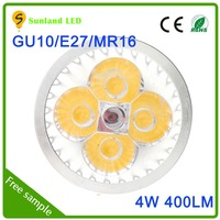New style best sell cool white CE ROHS approval 500lm remote control e27 rgb led spotlight
