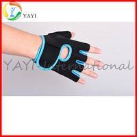 Neoprene gym training weightlifting half finger gloves, workout gloves, gloves cycling