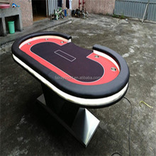 Casino poker table texas holdem with good quality wood leg