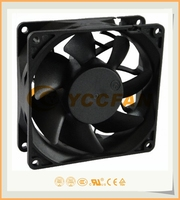 factory supply DC 12V 24V 92*92*32MM EXHAUST AXAIL FLOW TYPE MINI COOLING FAN