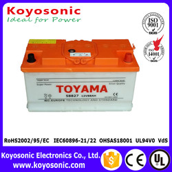 Cheap Price 12V 88AH Din Standard Dry Charged Car Battery Automotive Battery