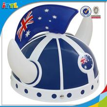 Top quality plastic helmet tools cap toy plastic hat