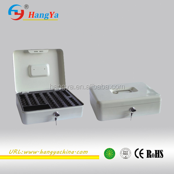 350mm Steel Plate Long life key board Cash Security Box| Money Safe box