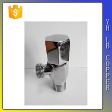 5/8-Inch Compression Inlet X 3/8-Inch Compression Outlet Chrome Angle Stop Valve
