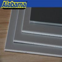 CE certified fire-rated polyurethane sandwich panel pvdf facade aluminum composite panel
