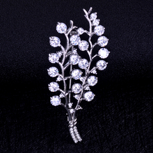 Top Quality Rhinestone Brooch For Wedding Bouquet