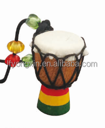 2016 New Product High Quality Orff Percussion,Musical Instruments Mini Wood African Drum