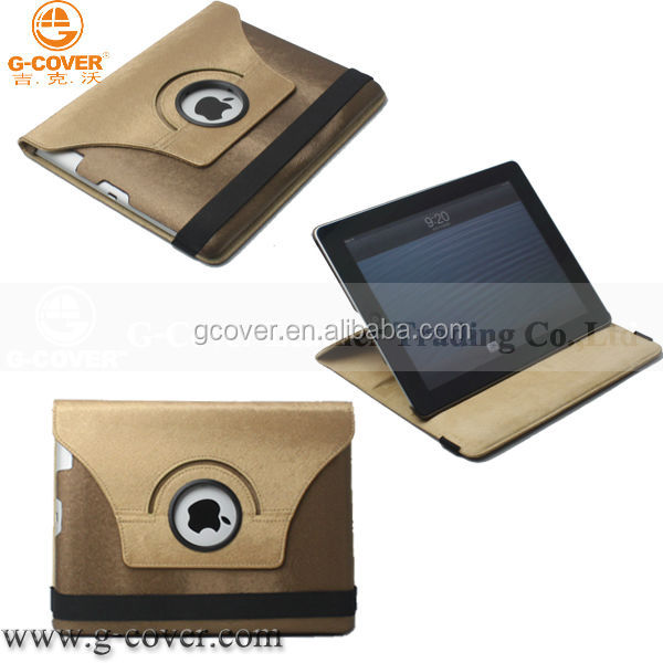 New laptop leather case for ipad 4 case for ipad 4