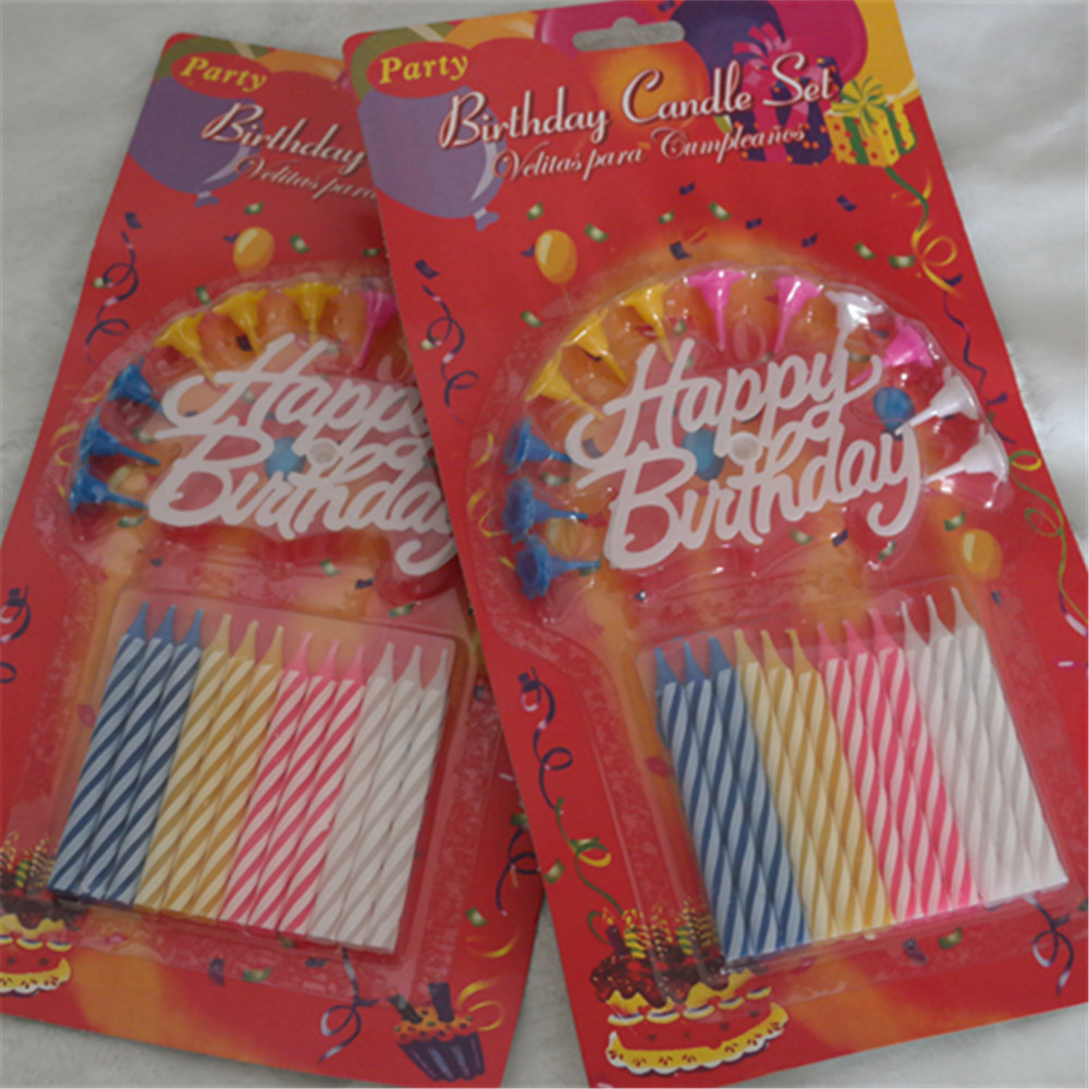 China Birthday Cake Candles Wholesale