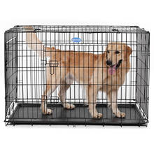 Wholesale Cheap indoor Foldable metal welded Iron wire mesh dog kennels cages