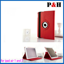 For iPad Leather Case For iPad Air 360 Rotating Leather for iPad Case Magnetic Factory Wholesale Competitive Price & Quality