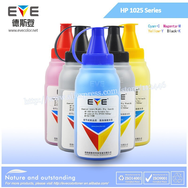 Compatible Laser Jet CP1025 toner powder refill