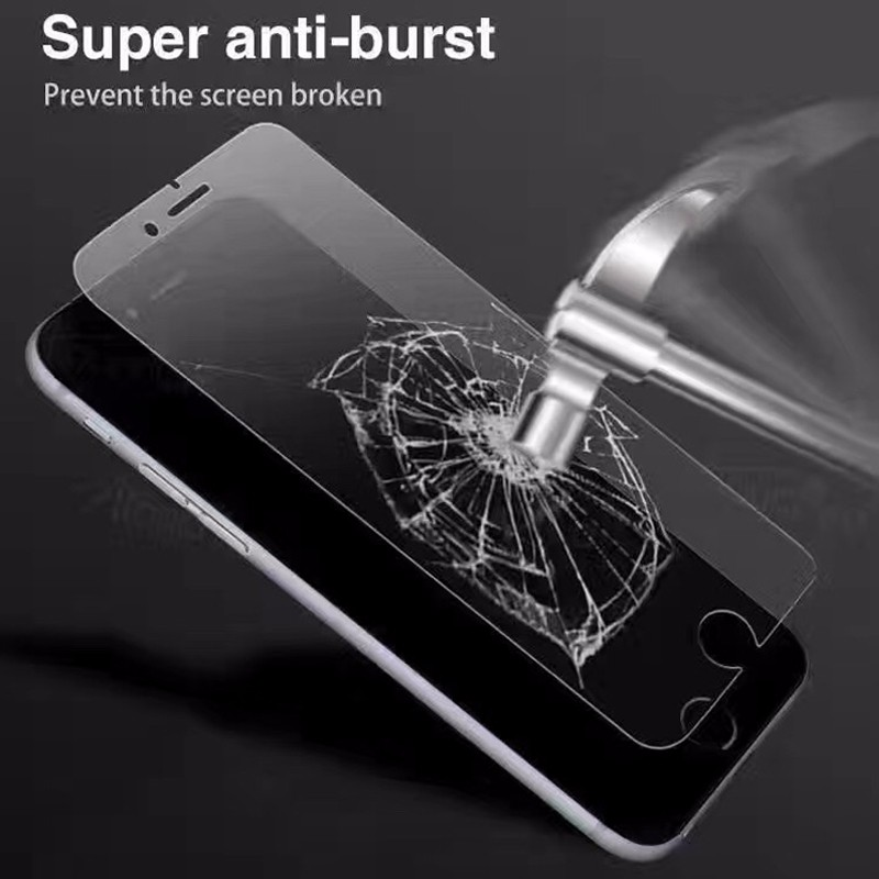 Wholesale anti shock matte screen protector tempered glass for iphone 6