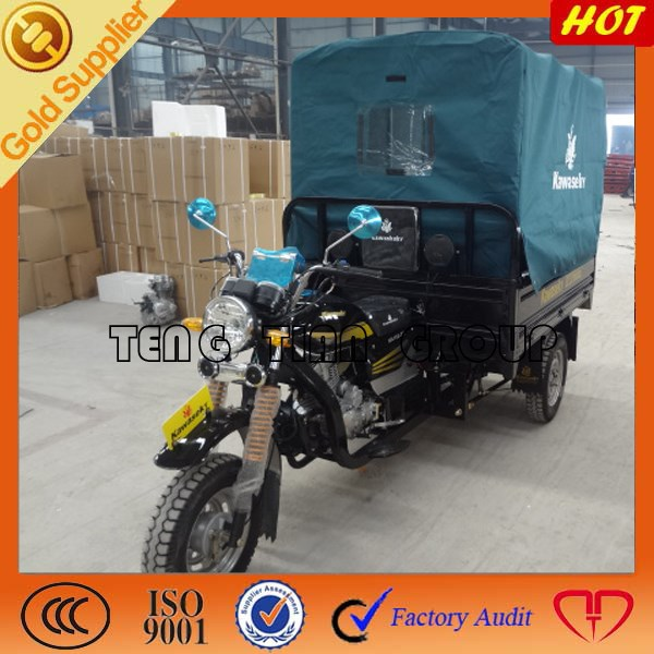 200cc engine reverse transmission/top three wheel cargo motorcycle on sale