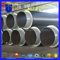 high quality astm grb carbon steel insulated pipe underground steel water pipe