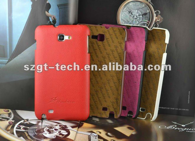 Newest lichi pattern genuine leather Case for Samsung Galaxy S2 SII i9220 back cover phone case
