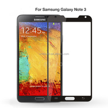 2.5D 9H Silk Printing full cover Glass Protective Flim, full cover tempered glass screen protector for Samsung Note 3