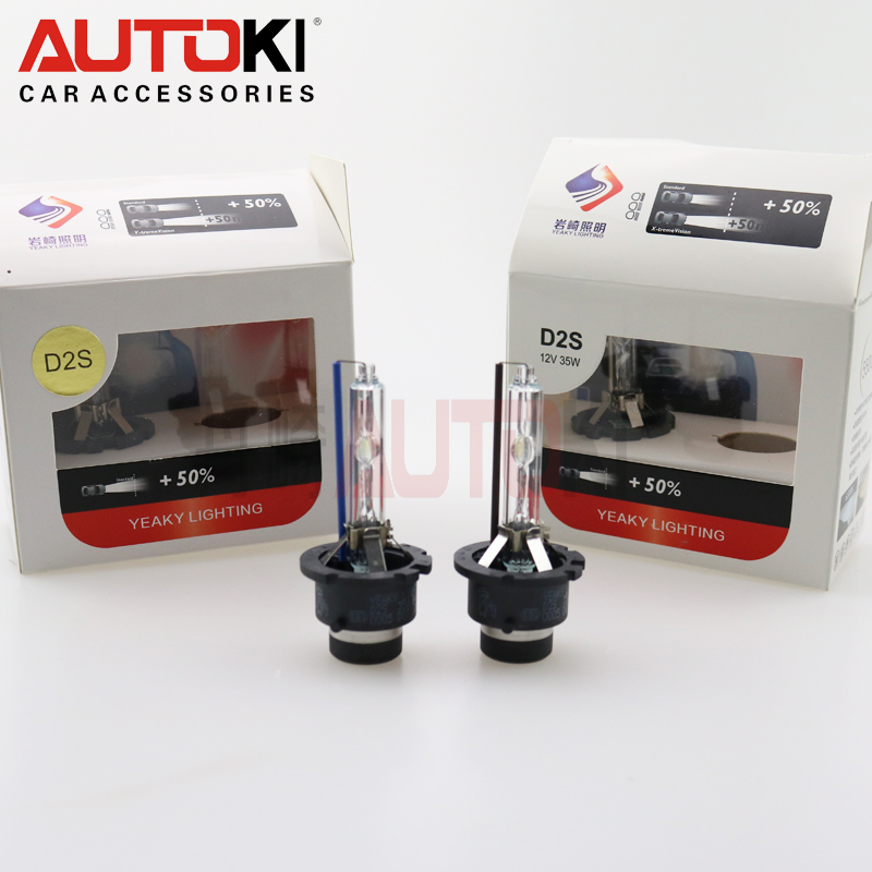 Yeaky D2S xenon HID bulbs no color difference more brighter xenon bulbs