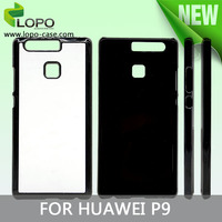 latest 2D blank aluminum hard plastic sublimation phone case for HUAWEI P9