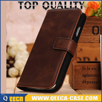 Luxury retro PU leather stand flip cover case for Motorola Moto G 4G (2nd Gen) 2015 XT1072 Wallet design