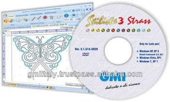Rhinestone design software: Stilista 3 Easy Strass