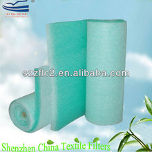 free samples china rolls air filter Fiberglass paint spray booth filter