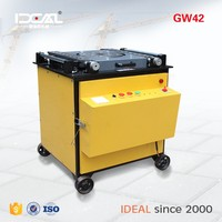 GW42 cnc automatic 6-40mm round iron steel bar bending machine