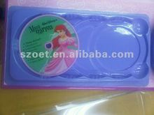 CD Blister Tray, plastic PET blister tray for CD player