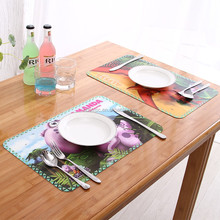 Different types custom restaurant desk pad 3d printed heat resistant pvc placemats with good offer