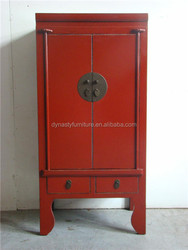 red chinese vanity wood reproduction furniture