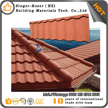 Kerala zinc roof sheet price/stone coated metal roof tile/new arrival roof tile