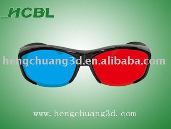 Hot sell 3d anaglyphic pictures porn 3d glasses from shenzhen China factory