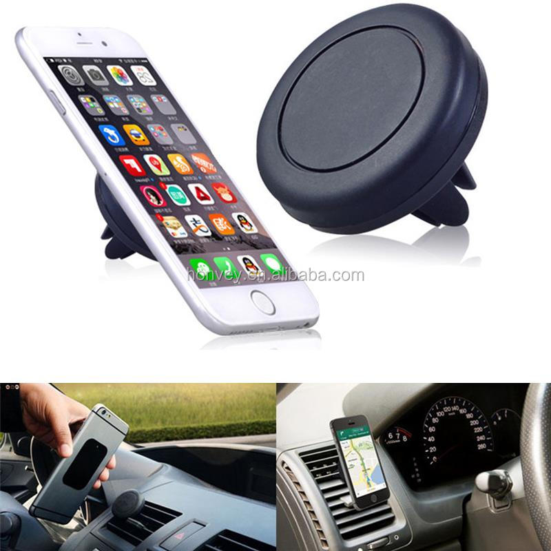 Super Convenient Magnetic Car Phone Holder Mini Air Vent Outlet Mount Magnetic Phone Car Holder for All Mobile Phone