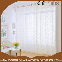 Warp knitted jacqaurd lace kitchen curtains for modern windows