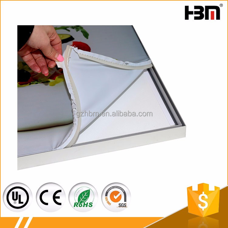 Wholesale manufacturer led flexible canvas light box