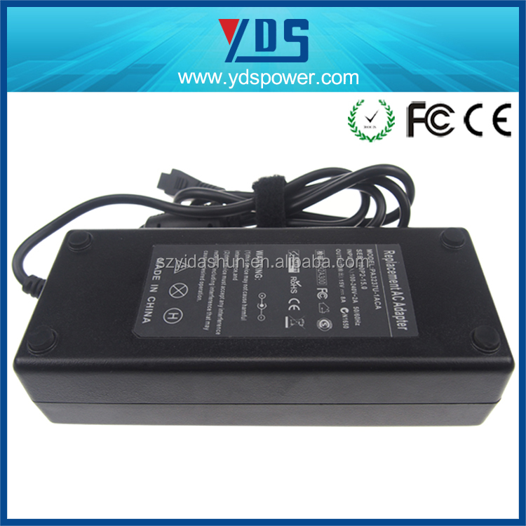 11 years factory high quality 15V 8A power Laptop ac dc Adapter for laptop computer 120W psu with CE, ROHS for Toshiba