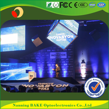 Indoor P3 P5 rental light weight seamless led display concerts screens cube