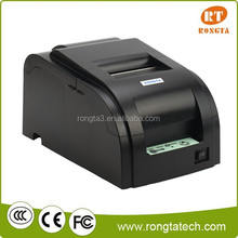 Double Ribbons Supported 76mm Dot Matrix Impact Printer