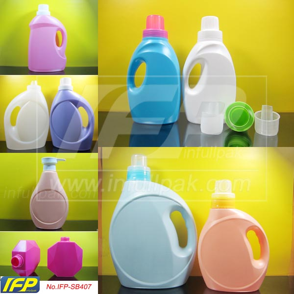 500ml, 600ml 1L, 1.5L, 2L, 3L, 4L, 5L Liquid Laundry Detergent Bottle