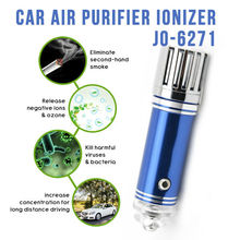 Hot Sale New products 12v Air Ionizer Car Air Purifier JO-6271