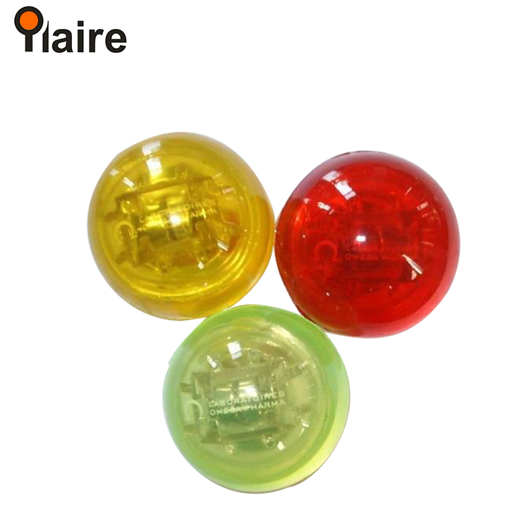 hot selling promotional glow in the dark led bouncing ball