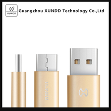 [XUNDD] 2.1A Fast charging & data transfer Nylon braided Micro USB Magnetic Charging Cable