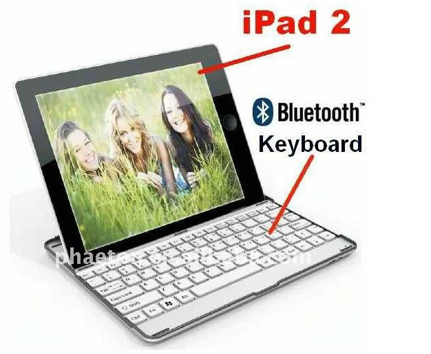 Wireless Bluetooth Keyboard for ipad With Spanish,Germany,French,Danish layout
