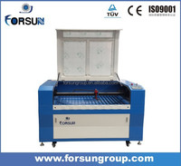 FSL1390 Alibaba mat laser cutting machine 100w co2 laser cutting machine