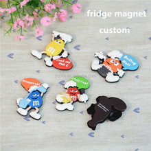 Custom fridge magnet pvc plastic printed advertising promotion magnet fridge magnet