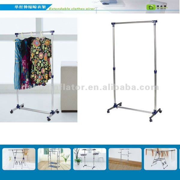 Hanger Stand,Extendable Clothes Hanger, Drying Rack