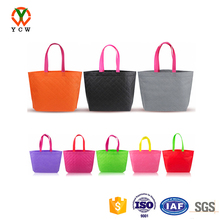 Durable plastic paper non woven shopping bag for stores used
